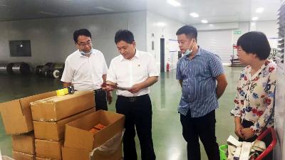 9月16日,副县长王秀民莅临德远塑业视察工作