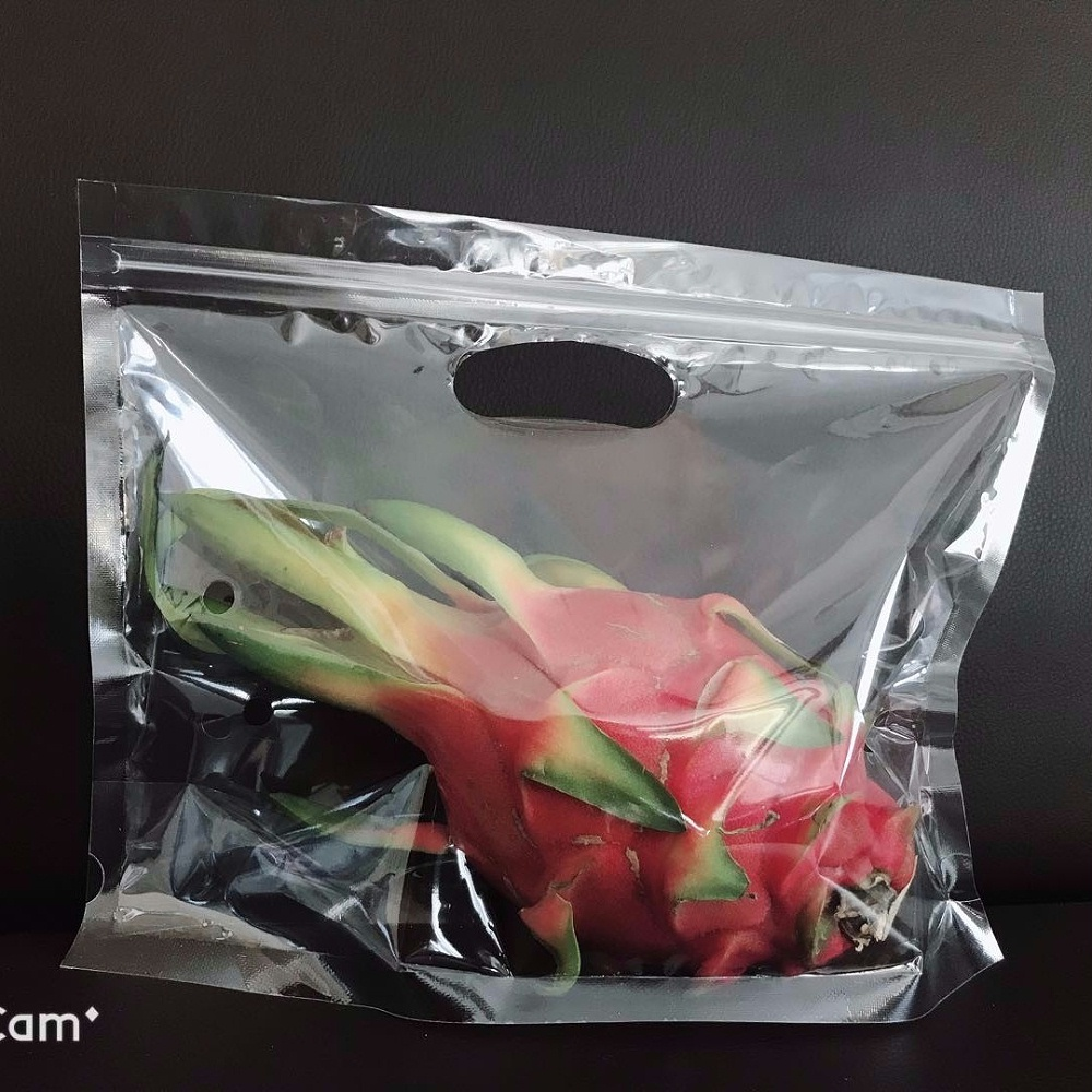 自立拉链自封水果袋