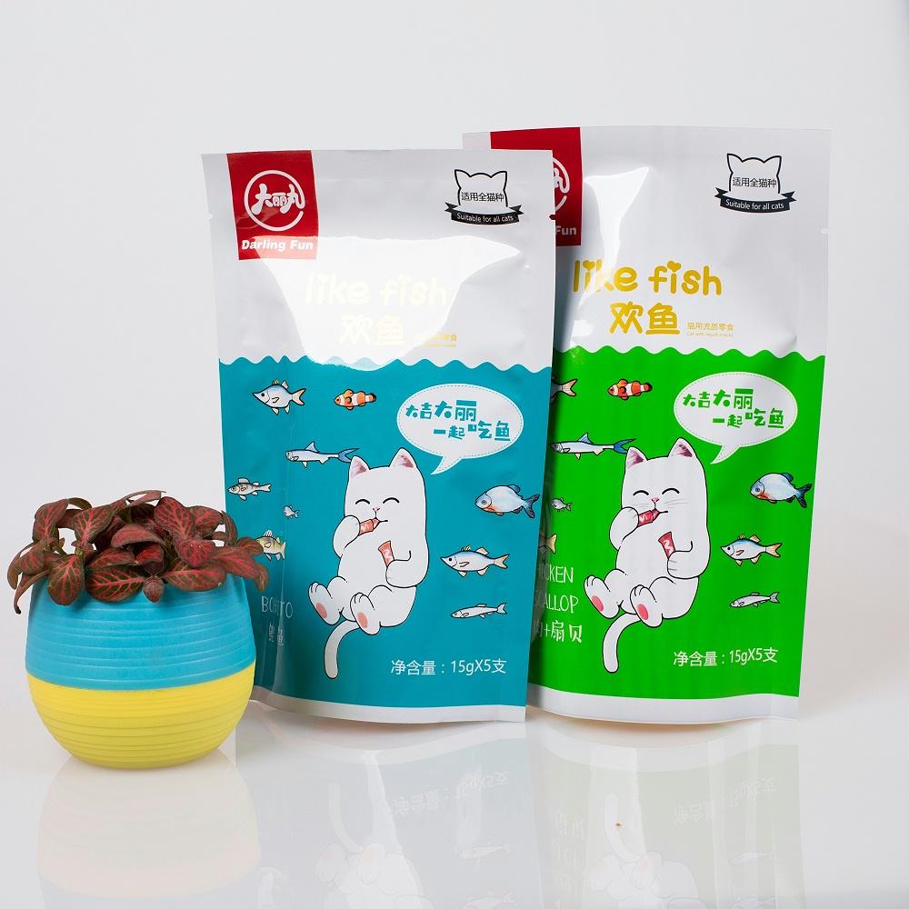 宠物猫粮食品包装袋
