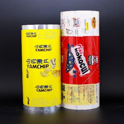膨化休闲食品卷膜包装
